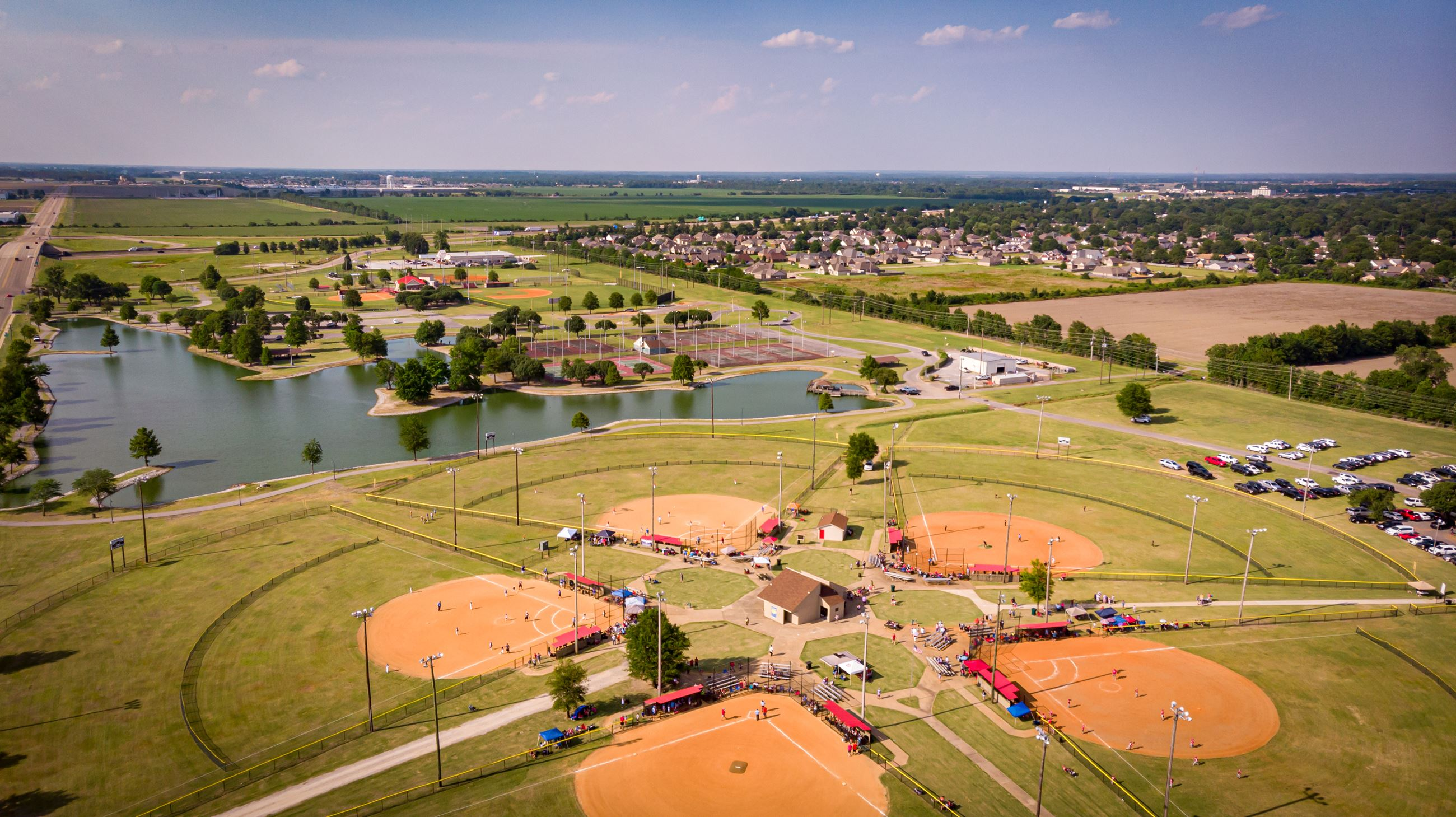 West Memphis Arkansas Marion Rose Park Sports Complex