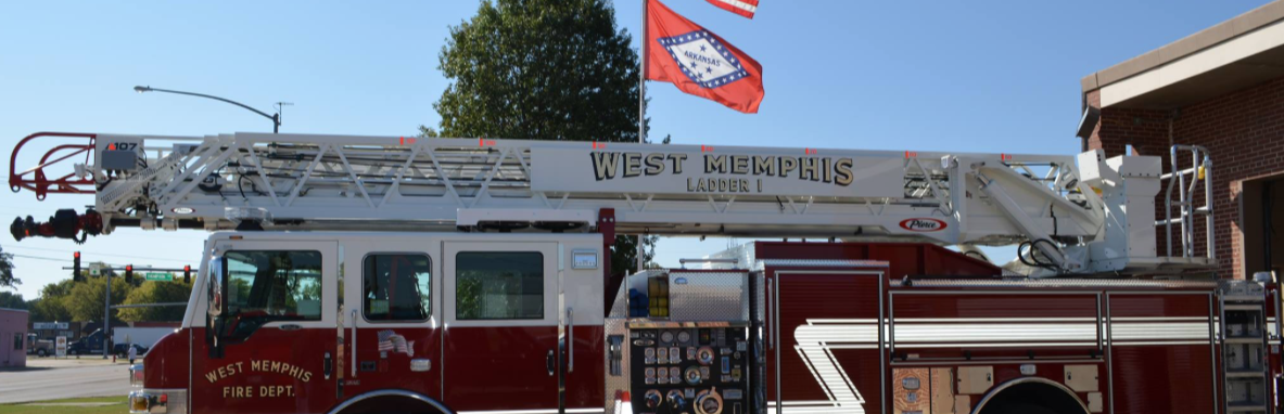 West Memphis Fire Department Ladder 1 Truck