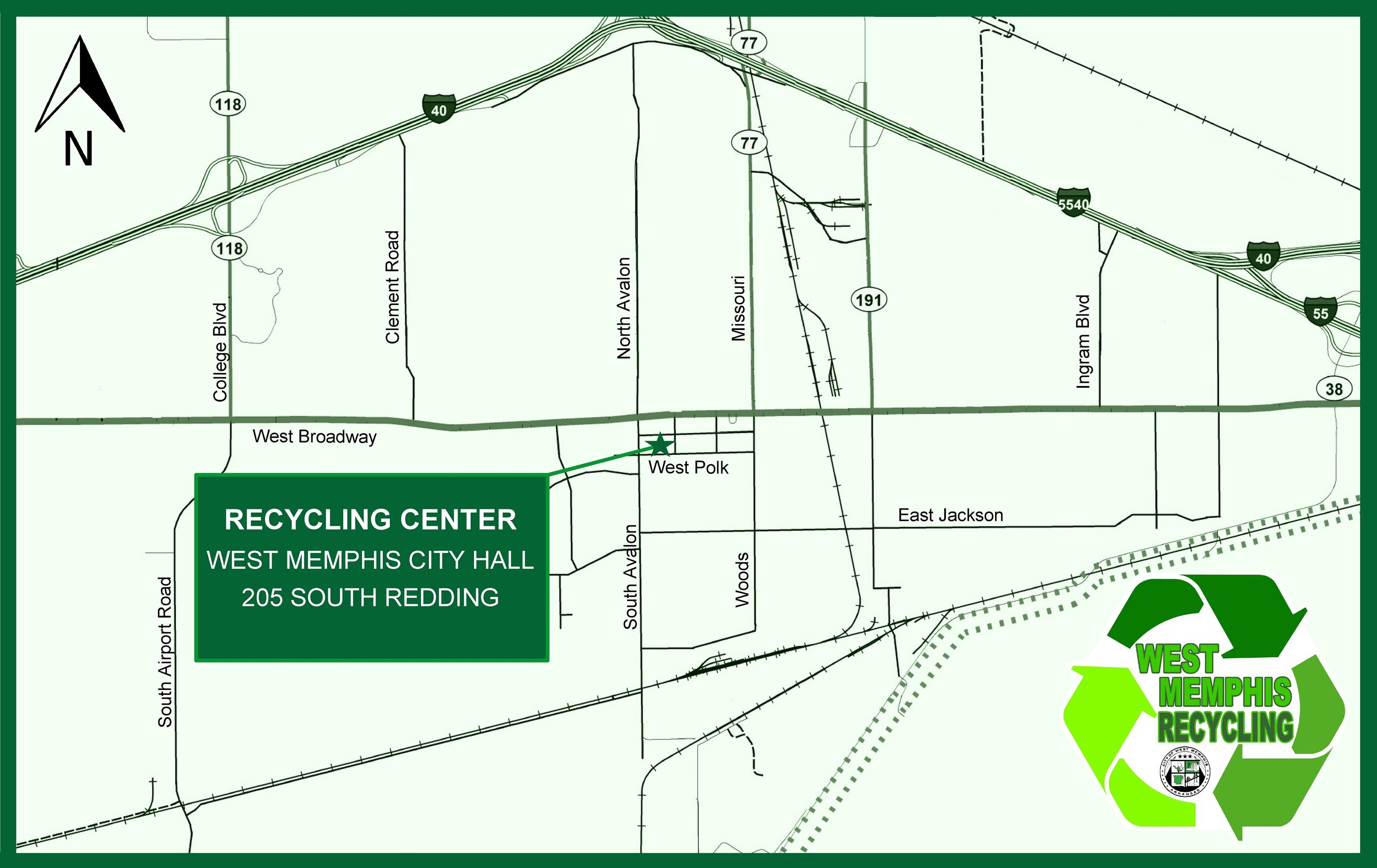 Recycle Site Map (JPG)