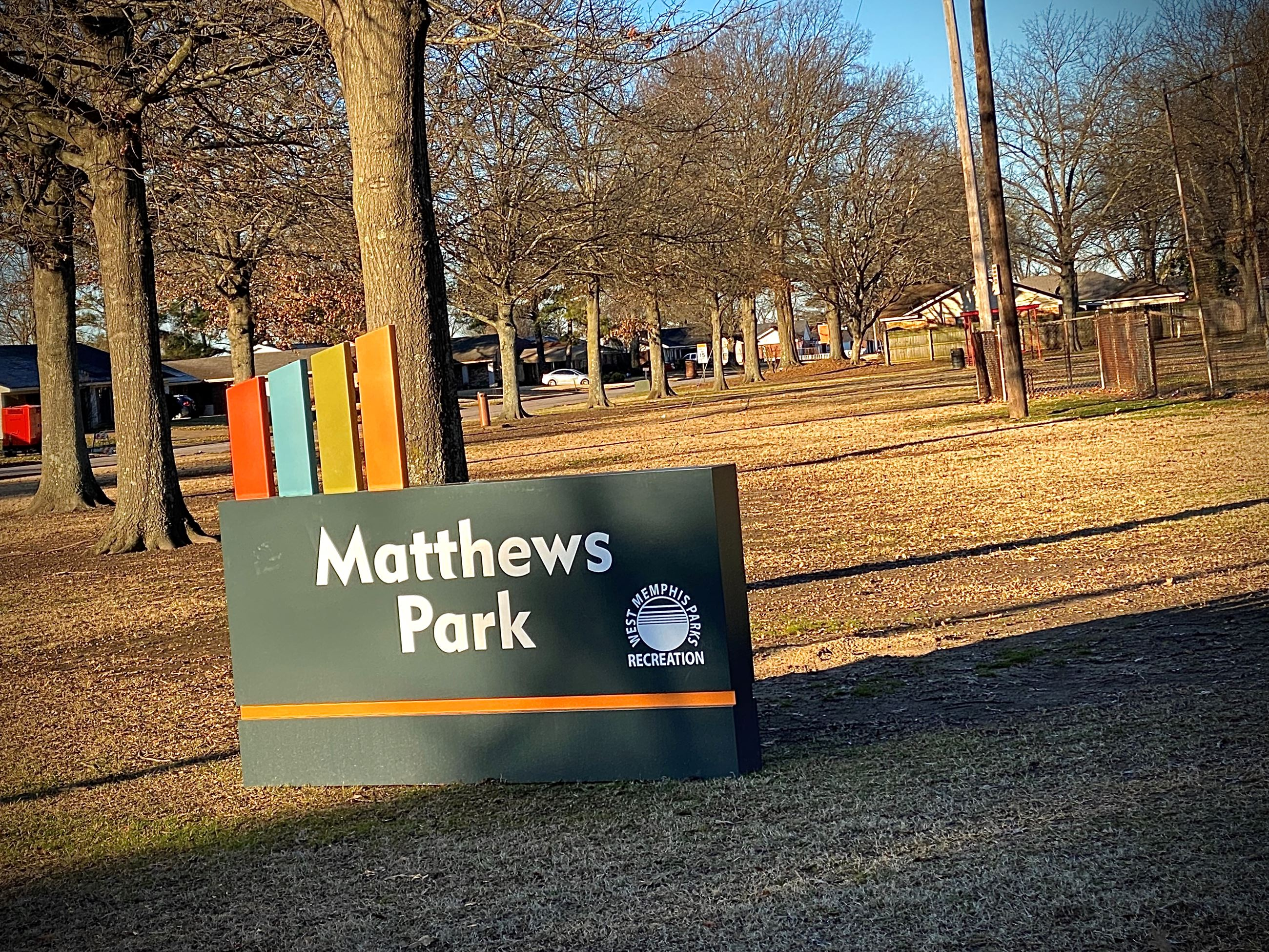 Mathews Park West Memphis Parks and Rec.