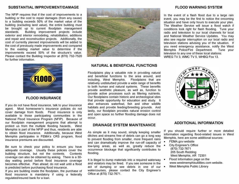 Flood Brochure Page 2